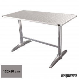 Mesa bar rectangular NIU432 INOX