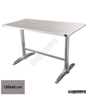 Mesa bar rectangular NIU432 INOX