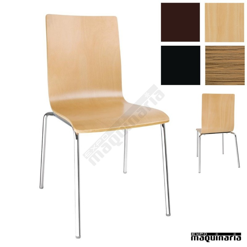 Sillas comedor minimalistas nigr342 sillas salon de for Sillas comedor apilables