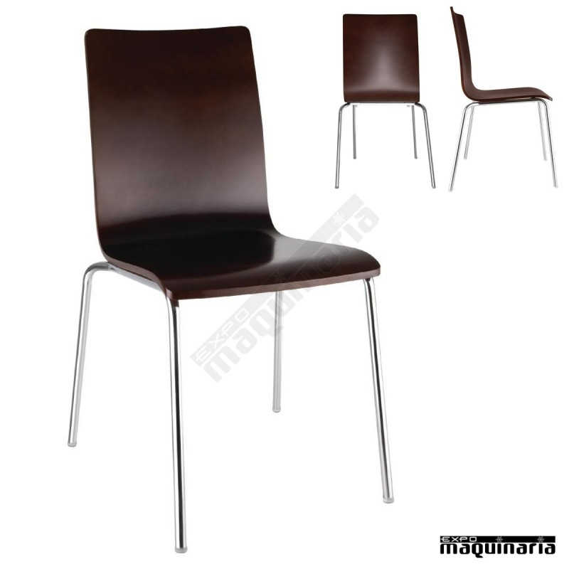 Sillas comedor minimalistas nigr342 sillas salon de for Sillas apilables comedor