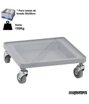 Carritos de transporte de bandejas lavavajillas