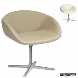 Sillon polipiel pata base en cruz IM6611