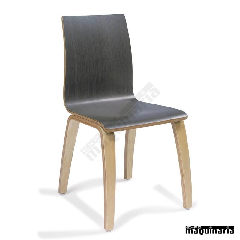 Sillas de madera im692 para sal n comedor en restaurantes for Catalogo de sillas para comedor de madera
