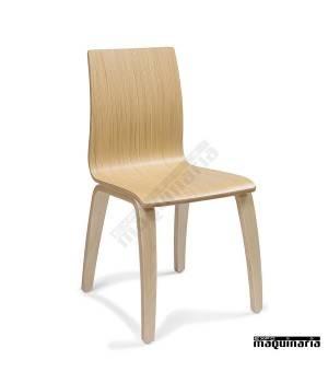 Sillas de madera IM692 para salón comedor en restaurantes o cafeterias