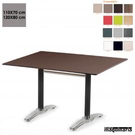 Mesa terraza rectangular compact IM9311CO