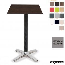Mesa alta para bar IM9166CO+ cuadrada