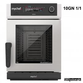 Horno hosteleria de precision MyChef 10 GN1/1