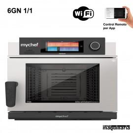 Horno profesional MyChef Evolution 6 GN1/1 T versión ancha