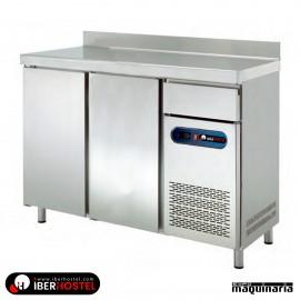 Mesa refrigerada alta 150x60cm IBER-FM150-R 2 puertas