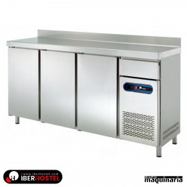 Mesa refrigerada alta 200x60cm IH8033102 3 puertas