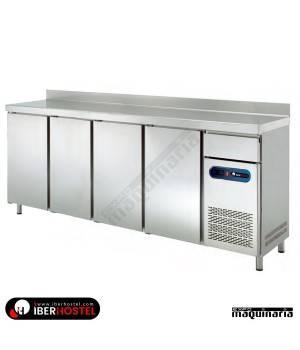 Mesa refrigerada alta 250x60cm IH8033103 4 puertas