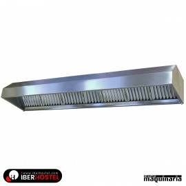 Campana extractora industrial a pared sin motor 3545mm (L)