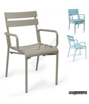 Sillones terraza de aluminio im4424 sillas apilables color - Sillas plasticas baratas ...