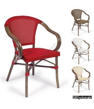 Silla apilable im4091 sillas de terraza respaldo y asiento - Sillas plasticas baratas ...