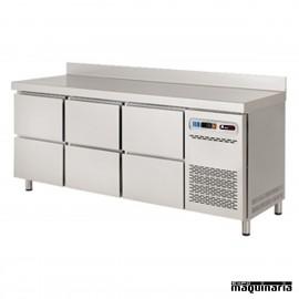 Mesa refrigerada Gastronorm 6 cajones IH8073111