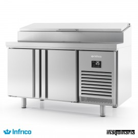 Mesa refrigerada para ensaladas (1468x600cm) BMPP1500EN