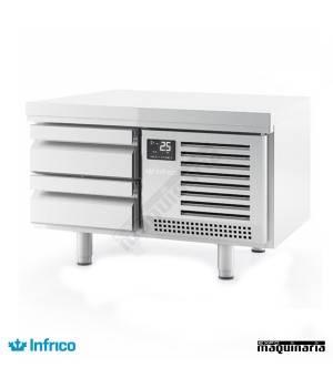 Mesa refrigerada baja-Snack (100 x 65 cm) MSG 1000