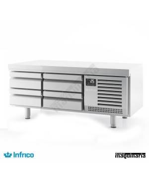 Mesa refrigerada baja -Snack (140 x 65 cm) MSG 1400 cajones