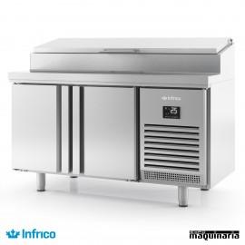 Mesa refrigerada ensaladas (146,8x70 cm) BMGN1470EN