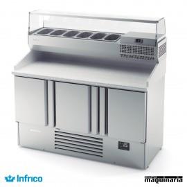 Vitrina refrigerada para pizzas INME1003VIP