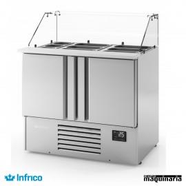Mesa refrigerada (97,8 x 70 cm) INME1000KB