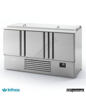 Mesa refrigerada ensaladas (146x70 cm) ME1003BAN