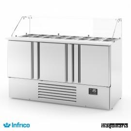 Mesa refrigerada (1460x700x1125 cm) INME1003KB