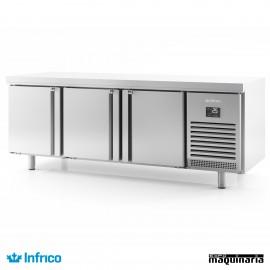 Mesa refrigerada pasteleria (218,5x80 cm) MR2190