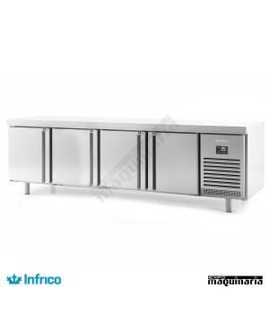 Mesa refrigerada pasteleria (275,2 x 80 cm) MR2750