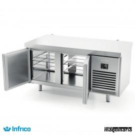 Mesa refrigerada pasteleria Central (161,8x80 cm) MR1620PDC