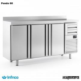Mesa refrigerada alta (196 x 60 cm) FMPP 2000 II