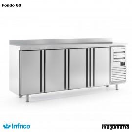 Mesa refrigerada alta (245,2 x 60 cm) FMPP 2500 II