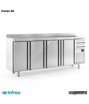 Mesa refrigerada alta(2452 x 600 cm) FMPP 2500 II