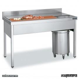Mesa MURAL de preparacion de carne y pescado DIFBC07014
