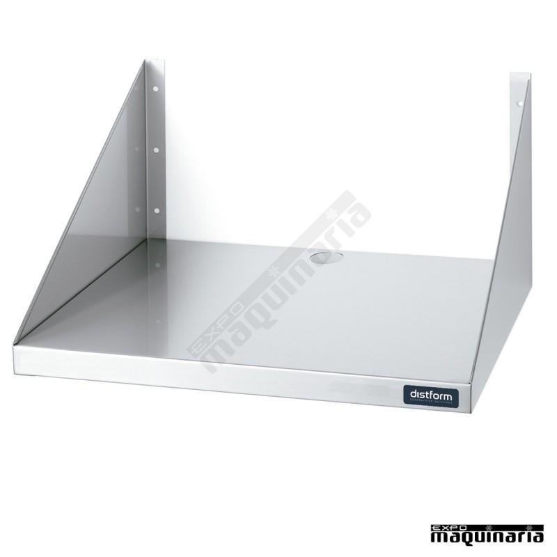 Estante de pared de acero inox para microondas dif0200401 - Estante microondas ...