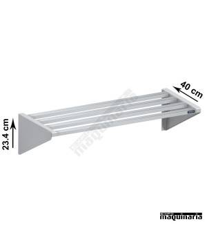 Estantería mural de tubos de acero inox DIF0100001