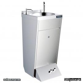 Lavamanos de pie para hosteleria 2 pulsadores F0251201.