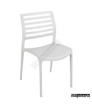 Sillas de terraza 1R150 blanco