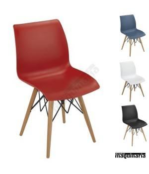 sillas modernas hosteler a para interior de local