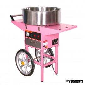 Máquina de Algodón de Azúcar eléctrica MAMA73CA con carro