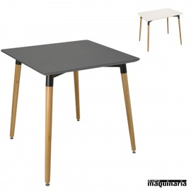Mesas de madera modernas 3R050