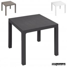 Mesa plastico terraza 3R110 70x70cm