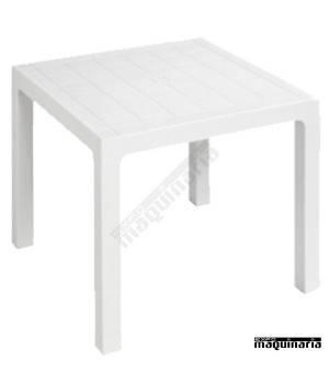 Mesa plastico terraza 3R110 blanco
