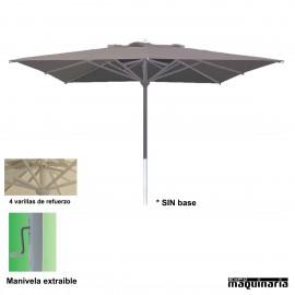 Parasol cuadrado 3x3 metros CVMASTER