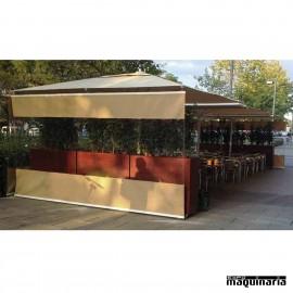 Cerramiento terraza bar 6x3m CVKITCERRAMIENTO