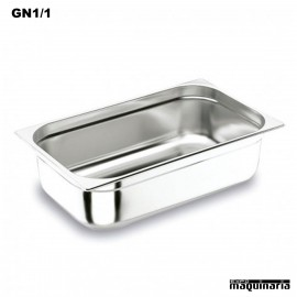 Cubeta Gastronorm INOX GN 1/1