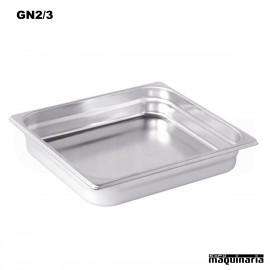 Cubeta Gastronorm INOX GN 2/3