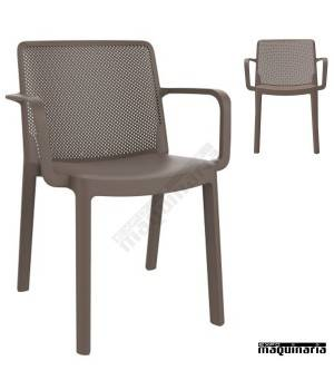 Sillones para exterior REFRESH-B chocolate