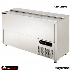 Botellero refrigerado IBER-BO3P-INOX