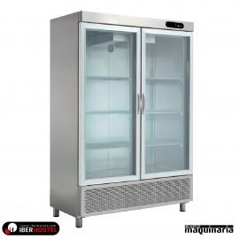 Armario frigorifico puerta cristal 1200L